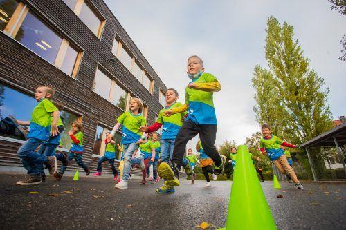 Auch in der Schule soll Kindern die Freude an Bewegung vermittelt werden.vn/steurer