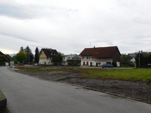 Auf dem Areal des ehemaligen Feuerwehrhauses, das bereits abgerissen wurde, entsteht eine Wohnanlage der Vogewosi.mima
