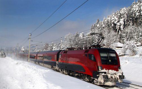 """Auf der Arlbergstrecke ist eine """"Fahrplanstabilisierung"""" geplant.OEBB"""