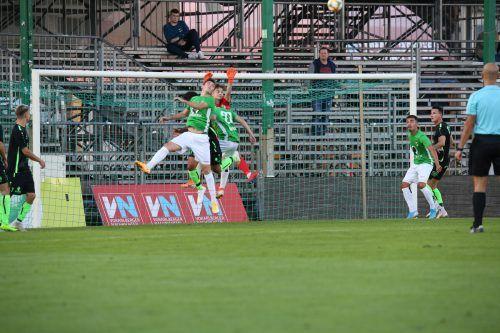 Austria Lustenaus Amateure wollen heute bei der Rückkehr in die VN.at-Eliteliga nach der Coronapause gegen Lauterach bestehen.hart