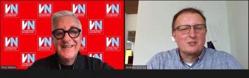 Bürgermeister Andreas Batlogg stellte sich den Fragen von VN-Redakteur Tony Walser.VN/JS