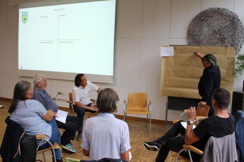 Bürgermeister Gerd Hölzl und die Gemeindevertretung diskutierten beim Strategietag über Aufgaben, Funktionen und vor allem das Ziel ihrer Arbeit.Gemeinde