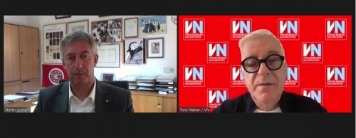 Bürgermeister Stefan Jochum stellte sich den Fragen von VN-Redakteur Tony Walser.VN/JS
