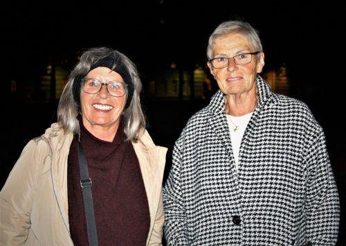 Christine Schillings und Judith Suitner ist die Begeisterung anzusehen.