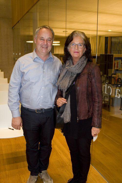Christoph Wund und Isolde Schmid hörten zu.