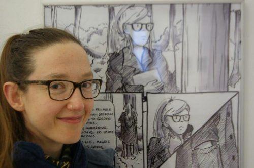Comic-Workshop mit Barbara Eggert.