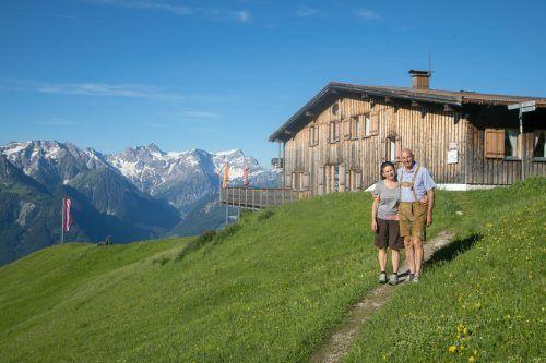 Dagmar und Stefan Probst haben ausschließlich schöne Erinnerungen an ihre Zeit als Hüttenwirte.BI