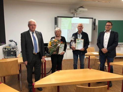 Dank und Anerkennung gab es für die langjährigen Rechnungsprüfer Jutta Oberhauser und Elmar Büsel. VHs Götzis