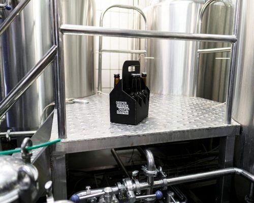"""Das auf künstlicher Intelligenz basierte Luzerner Bier heißt """"Deeper"""". HSLU"""