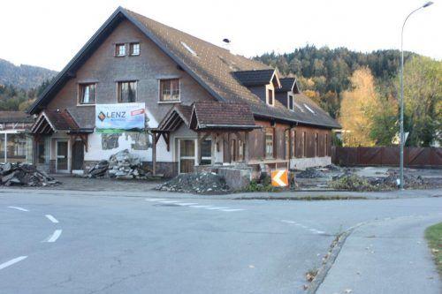 """Das Café """"Zur alten Sennerei"""" wird einer Wohnanlage weichen. VN/Tk"""