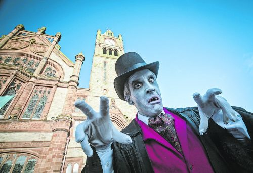 Das Derry Halloween Festival hat sich zu einer der größten Halloween-Feiern der Welt entwickelt und findet dieses Jahr digital statt.