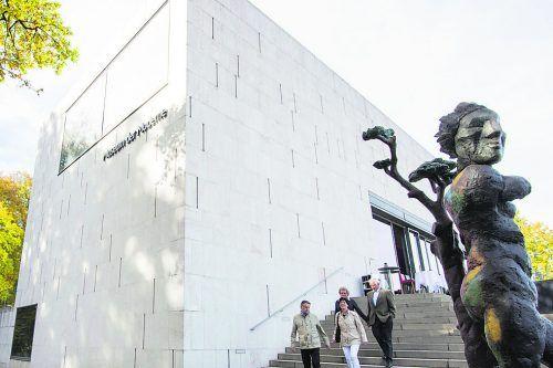 Das Museum der Moderne befindet sich auf dem Mönchsberg.Tourismus Salzburg