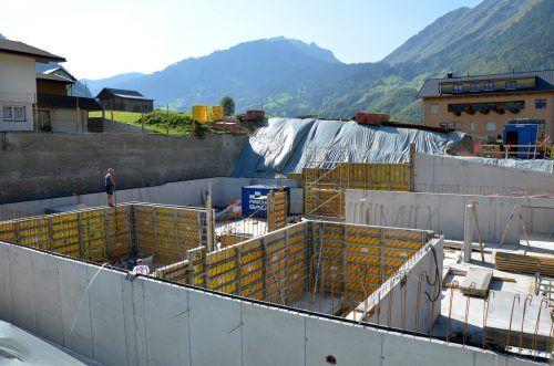Das Sinnhus neu wird für rund 2,5 Millionen Euro errichtet.mam/2