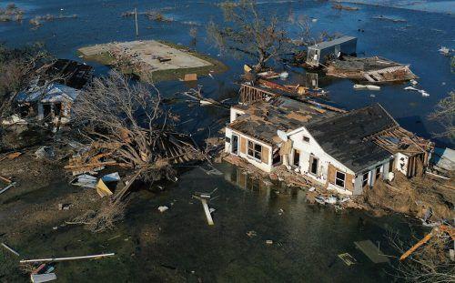 """""""Delta"""" war bereits der vierte Sturm, der Louisianas Küste in diesem Jahr traf. AFP"""