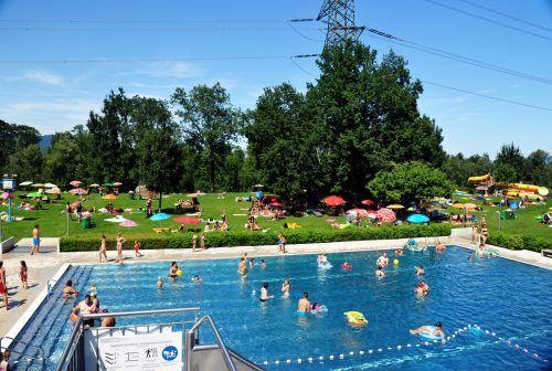 Den Besucherbeschränkungen stand die Tatsache entgegen, dass viele Hohenemser daheim Urlaub machten.Stadt