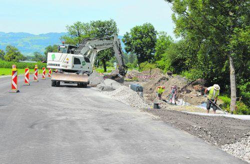 Den Sommer über wurde fleißig gebaut. Ende 2021 soll der Autobahnanschluss stehen.