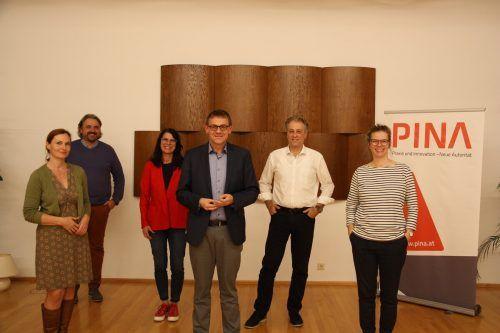 Denise Hagenbucher, Martin Fellacher, Jutta Gunz, Christoph Thoma, Gerold Kornexl, Claudia Schedler.