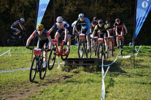Der Dornbirner Mountainbikenachwuchs stellte sich der harten Konkurrenz.cth (3)