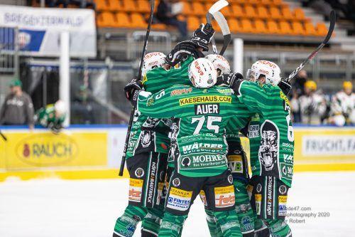Der EC Bregenzerwald feierte gegen VEU Feldkirch den ersten AHL-Saisonerfolg. ECB