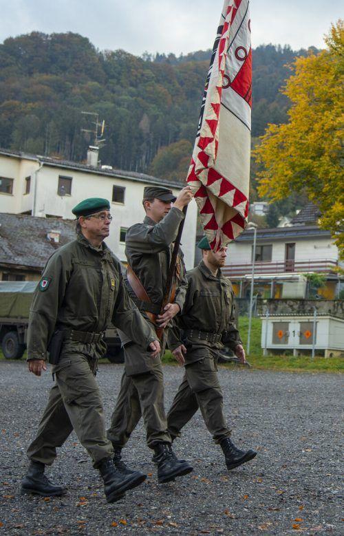 Der Festakt fand ohne die Öffentlichkeit statt. VN/Paulitsch