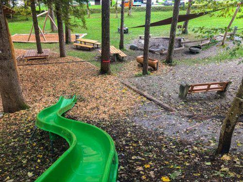 Die Gemeinde Vandans konnte in Zusammenarbeit mit der aquamühle den Gemsle-Spielplatz über den Sommer renovieren und gleichzeitig umgestalten. sto