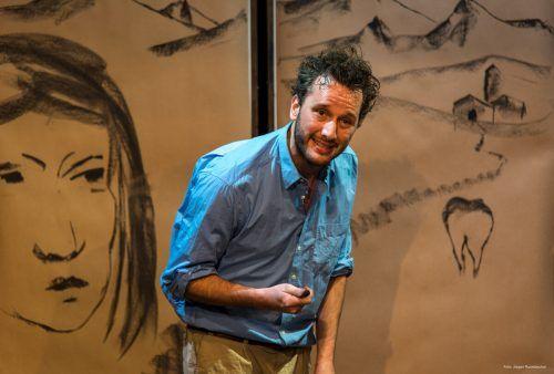 Der grandiose Schauspieler Marco Michel in der Rolle des tragischen Malers Antonio Ligabue. Ruckdeschel