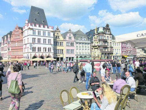 Der Hauptmarkt von Trier wird auch als Wohnzimmer der Stadt bezeichnet.Edith Rhomberg (4)