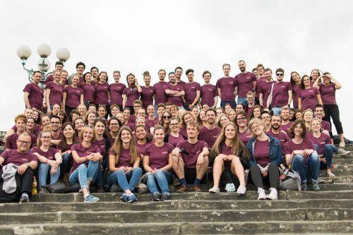Der Landesjugendchor Voices tritt am 10. Oktober mit dem Enemble Sonus Brass in Hohenems auf. voices