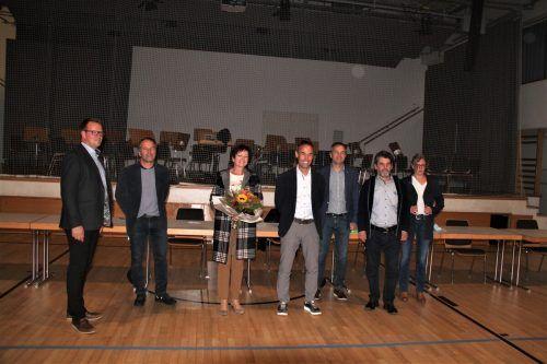 Der neue Gemeindevorstand mit Bürgermeisterin a. D. Gabriele Mähr.Gemeinde
