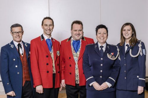 Der neue Vorstand des Blasmusikbezirks Dornbirn, der am vergangenen Mittwoch gewählt wurde.
