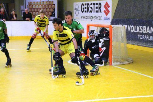 Der RHC Dornbirn spielte im Schweizer Cup groß auf und besiegte Vordemwald 11:4.RHC