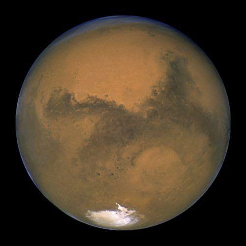 Spektakel am Nachthimmel: In der Nacht auf Donnerstag kommt der Mars uns nah - näher wird er uns bis 2035 nicht mehr sein. AP