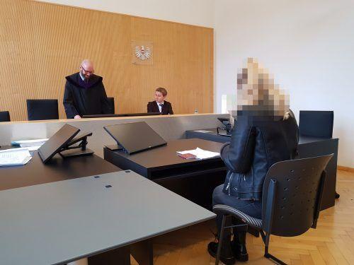Die Angeklagte kam beim Prozess am Landesgericht Feldkirch ohne Verurteilung davon. ECKERT