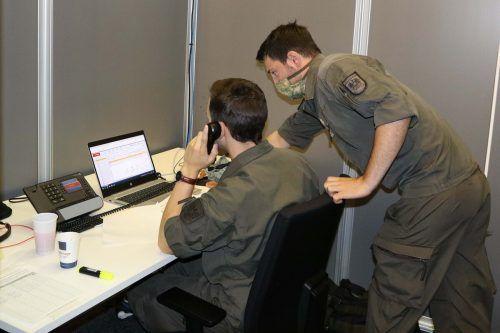Die Arbeit der Bundesheersoldaten wird vom Infektionsteam sehr geschätzt.alexander pehr