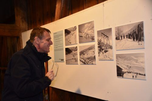Die Besucher zeigten sich von den Einblicken in die Anfänge und die Entwicklung des Tourismus im Tal überaus angetan. dob