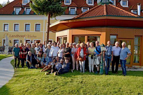 Die Bludenzer Pensionisten verbrachten abwechslungsreiche Tage in der schönen Wachau.Pensionistenverband Bludenz/ludwig weg