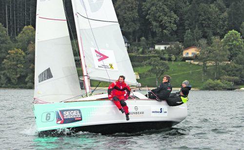 Die Crew des YC Hard landete als Zweiter zum dritten Mal in Folge in den Medaillenrängen der Segelbundesliga.SBL