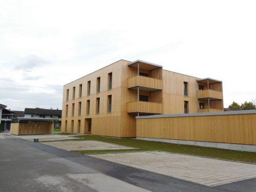 Die erste Altacher 500+ Wohnanlage steht in der Löherstraße. Mäser