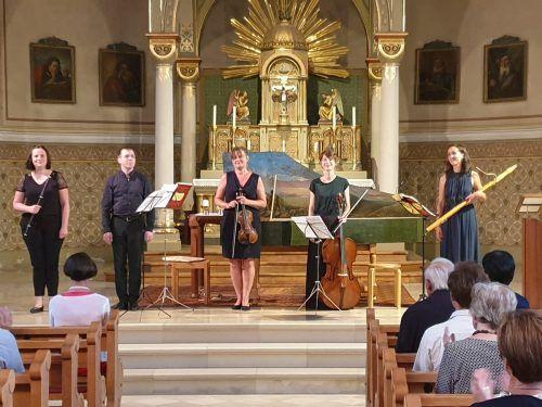 Die fünf Musiker standen bereits in Doren (im Bild) gemeinsam auf der Bühne. UHL