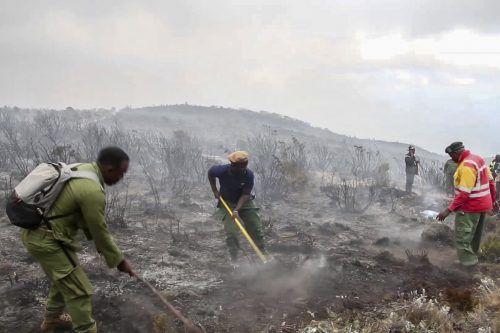 Nach knapp einer Woche ist es gelungen, die Flammen einzudämmen. Reuters