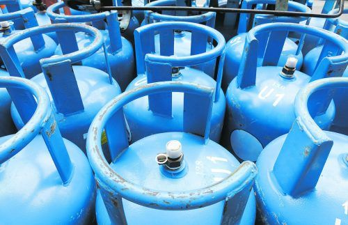 Die Lagerung von Flüssiggas ist gesetzlich geregelt. shutterstock