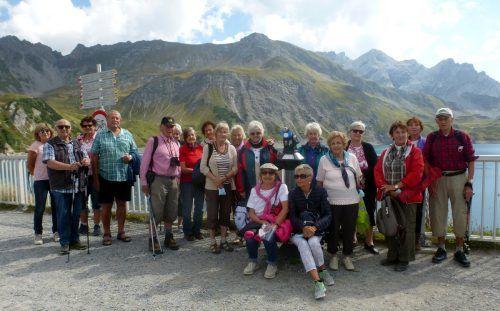 Die Lochauer Senioren machten einen Ausflug an den Lünersee.sb
