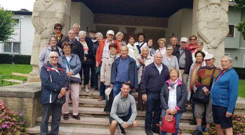 Die Lochauer Senioren machten einen kleine Österreich-Rundreise.sb