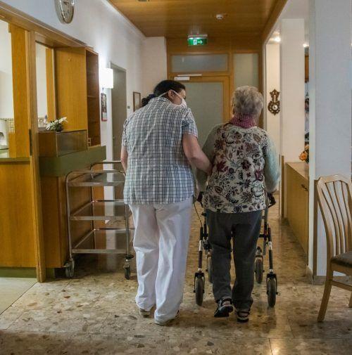 Die meisten Pflegeheime blieben bislang vor einer zweiten Welle verschont.vn/RP