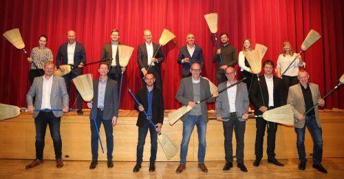 Die Mitglieder der neuen Gemeindevertretung in Doren.Gemeinde Doren