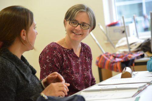 Die neue Fachinspektorin für Religionsunterricht, Ruth Berger-Holzknecht, arbeitet auch mit Flüchtlingen in Lingenau. Kath. Kirche