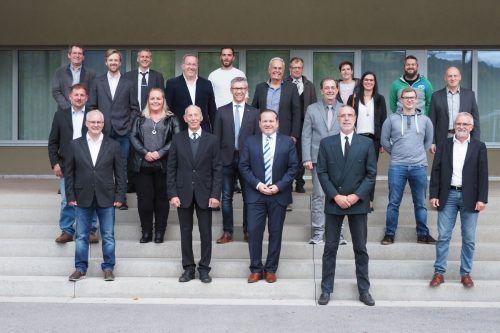 Die neue Gemeindevertretung in der Walgauer Gemeinde sprach ihr Gelöbnis.tmh pressedienst