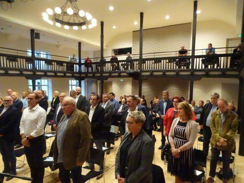 Die neue Stadtvertretung konstituierte sich am Samstag im Löwensaal.tf (3)