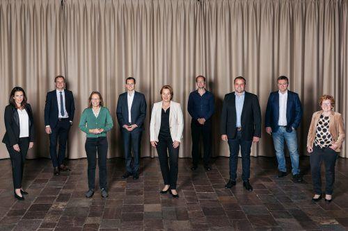 Die neun Dornbirner Stadträte haben jetzt ihre Referate zugeteilt bekommen.Stadt