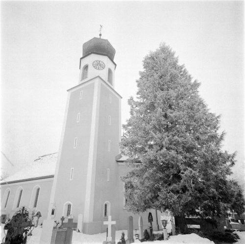 Die Pfarrkirche ist der heiligen Agatha geweiht.